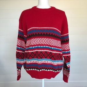 Vintage Unisex Oversized Dad Sweater Large